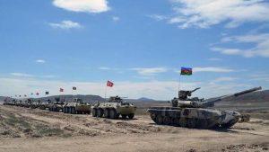 Turkey, Azerbaijan begin joint military drills in Baku_50.1