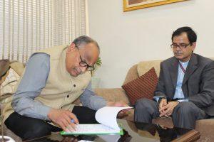 N Venudhar Reddy takes charge as Director General of All India Radio_50.1