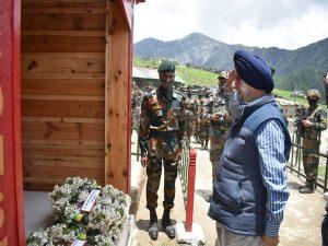 Indian Army Inaugurates War Memorial of Capt Gurjinder Singh Suri_50.1
