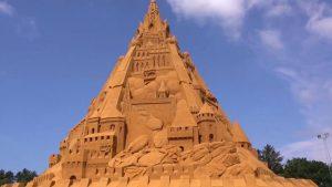 World's tallest sandcastle constructed in Denmark_50.1