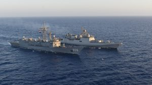 INS Tabar conducts military exercise with Italian Navy_50.1