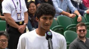Samir Banerjee wins Wimbledon Junior Men's title_50.1