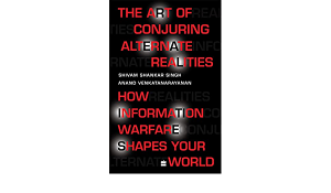 """A book titled """"The Art of Conjuring Alternate Realities""""_50.1"""