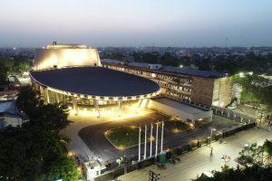 PM Narendra Modi inaugurates 'Rudraksh' convention centre in Varanasi_50.1