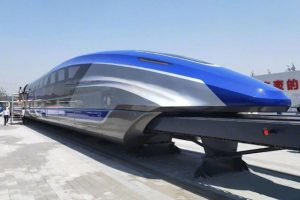 China unveils 600 kph maglev train makes public debut_50.1