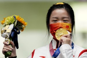 China's Yang Qian Wins First Gold Medal of Tokyo Olympics_50.1