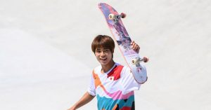 Japan's Yuto Horigome wins first ever Olympic gold medal in skateboarding_50.1