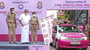 Kerala police launched 'Pink Protection' project for women safety_50.1