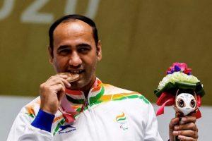 Paralympics 2020: Singhraj Adhana wins bronze medal in 10m Air Pistol_50.1