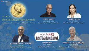 Ramon Magsaysay Award 2021 names announced_50.1