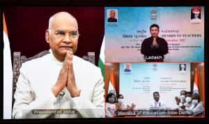 President Ram Nath Kovind presents National Award for Teachers-2021_50.1