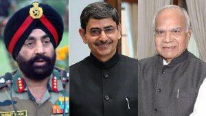 Uttarakhand, Punjab, Tamil Nadu get new governors_50.1