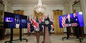 "US, UK and Australia announce new partnership ""AUKUS""_50.1"