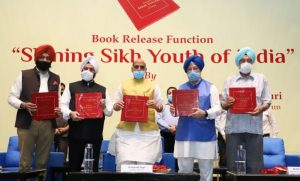 Rajnath Singh launches a book title 'Shining Sikh Youth of India'_50.1