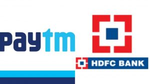 HDFC Bank ties up with Paytm to launch co-branded credit cards_50.1