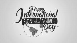 International Day of Sign Languages: 23 September_50.1