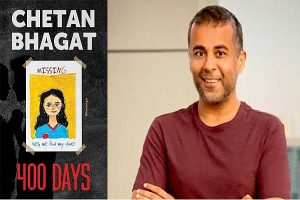 Chetan Bhagat releases trailer of his upcoming book '400 Days'_50.1