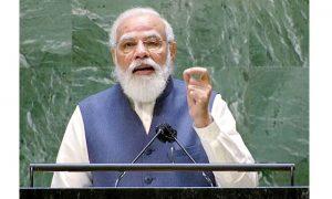 PM Modi addresses 76th UNGA in New York_50.1