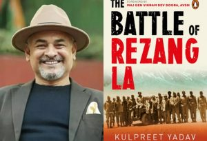 "A new book title ""The Battle of Rezang La"" written by Kulpreet Yadav_50.1"